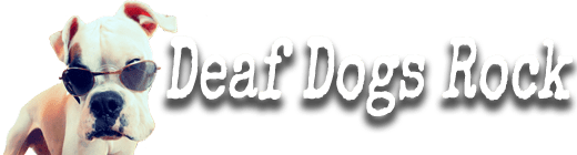 Deaf Dogs Rock Retina Logo